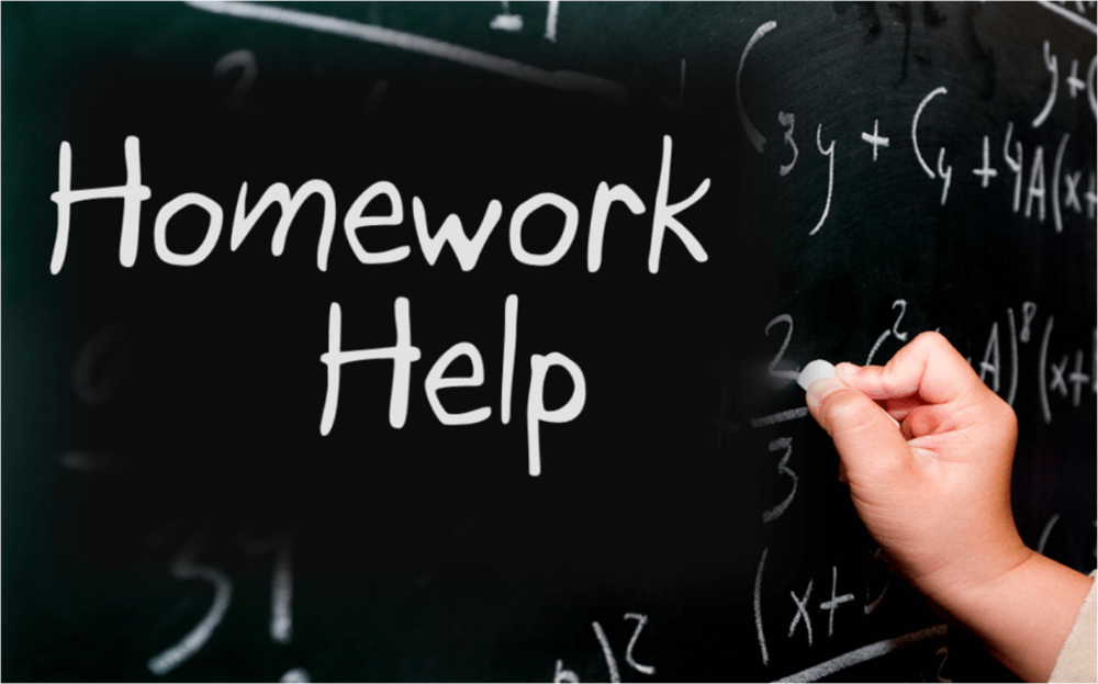 Virtual homework help offered via Zoom