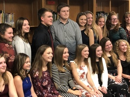 NATIONAL JUNIOR HONOR SOCIETY GROWS BY 25