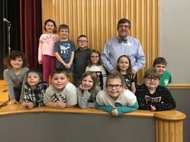 DELEVAN LITERACY NIGHT INCLUDED AUTHOR VISIT