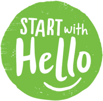 IT STARTS WITH HELLO
