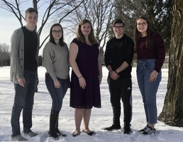 FIVE VIE FOR WINTERFEST ROYALTY