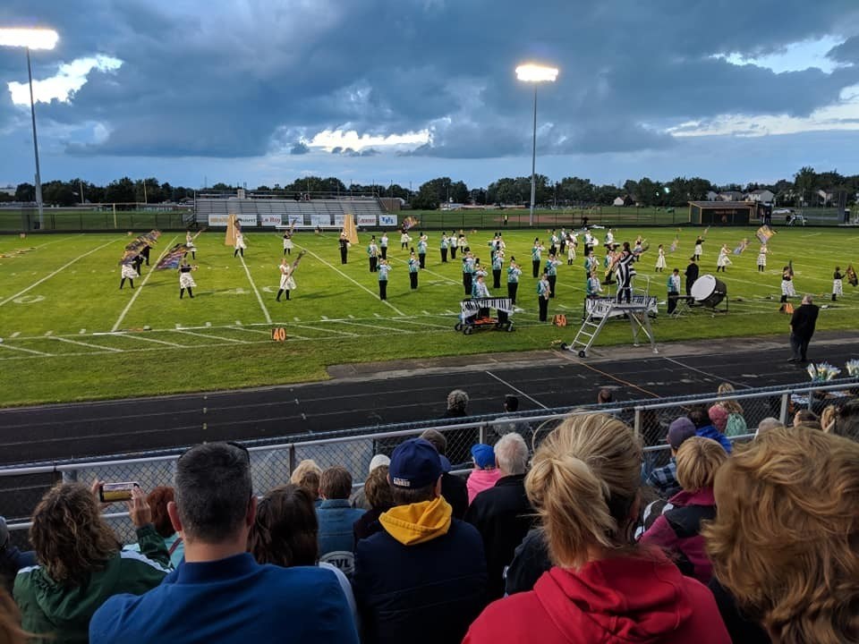 Marching Panthers at West Seneca