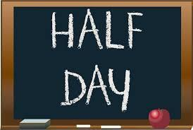 Half day for both Delevan & Arcade Elementary Schools.